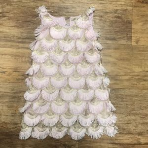 """Adorable """"flapper"""" style toddler dress."""